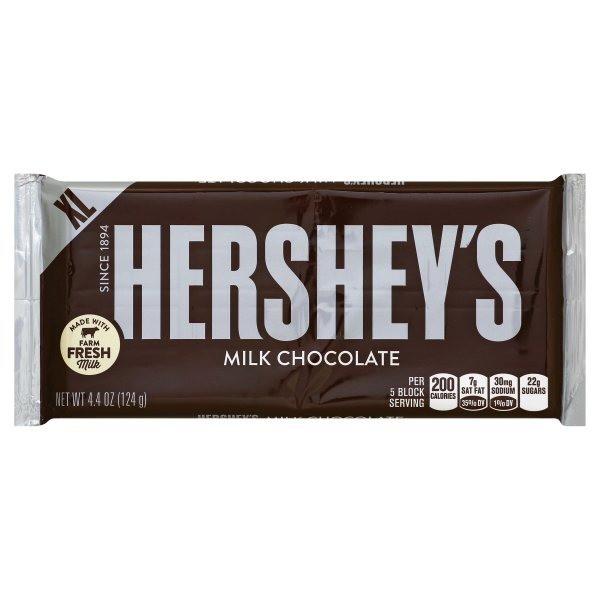 Hershey's Milk Chocolate 124 g