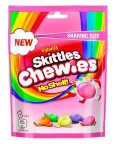 Драже Skittles Chewies 196 g