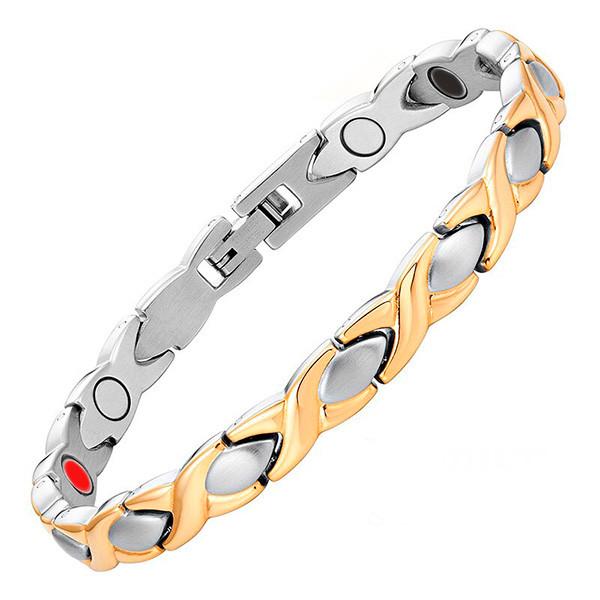 Магнитный браслет Женская хитрость Gold