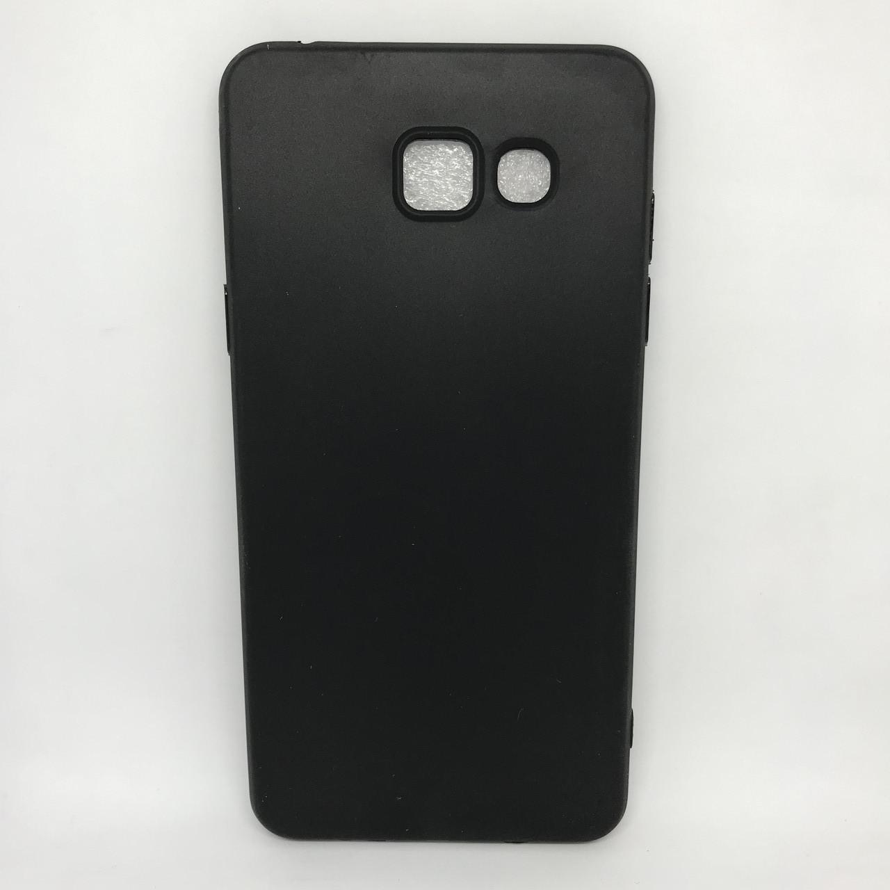 Чехол Накладка silicone Samsung A510 black