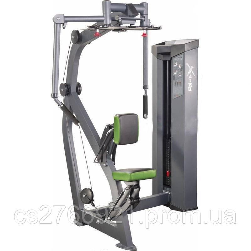 Тренажер для мышц груди / задних дельт (весовой стек 150 кг) Xline XR124.1