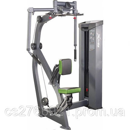 Тренажер для мышц груди / задних дельт (весовой стек 150 кг) Xline XR124.1, фото 2