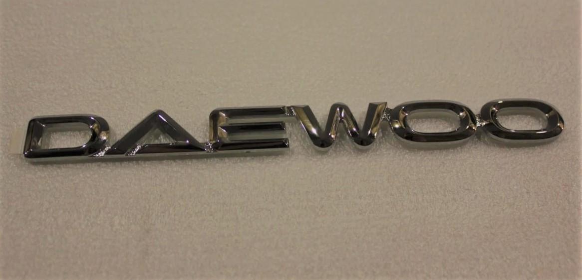 """Емблема-напис на п'яті двері """"DAEWOO Matiz II GM Корея (оригінал)"""
