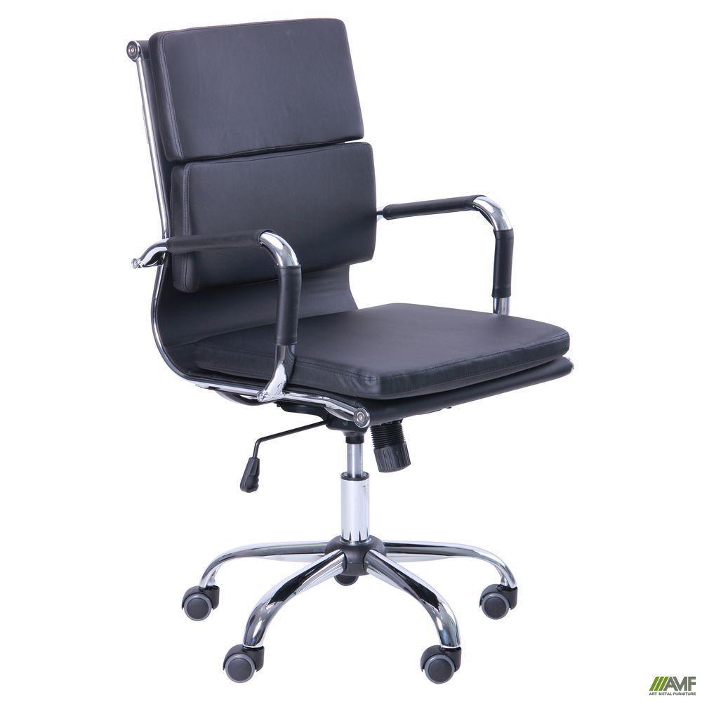 Кресло офисное AMF Slim FX LB чёрное