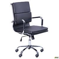 Кресло офисное AMF Slim FX LB чёрное, фото 1