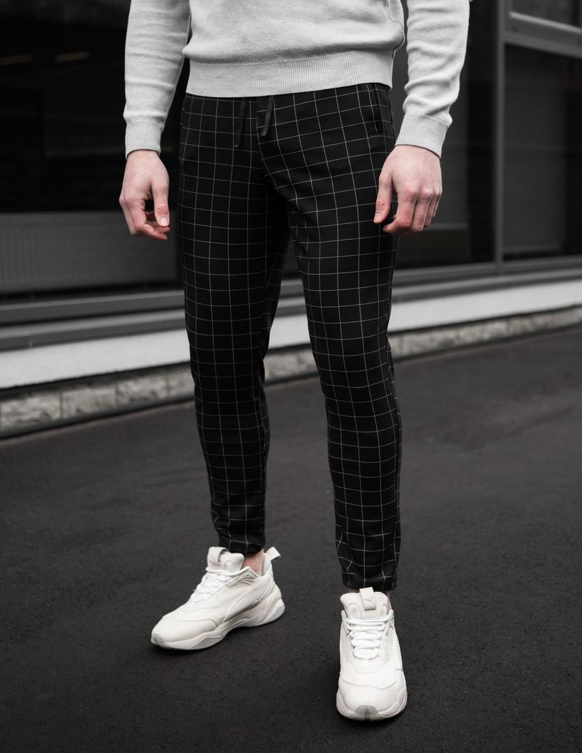 Мужские универсальные брюки в клету Tomson 3 цвета в наличии