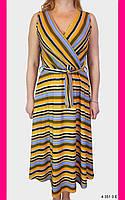 Сарафан на запах. Платье повседневное. One size (46-48). Женская одежда