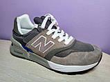 Чоловічі кросівки в стилі New Balance 997 euroncap reveal Grey, фото 4