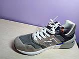 Чоловічі кросівки в стилі New Balance 997 euroncap reveal Grey, фото 7