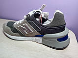 Чоловічі кросівки в стилі New Balance 997 euroncap reveal Grey, фото 9