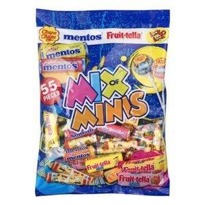 Набор конфет Mentos Fruit-Tella mix of minis 508 g