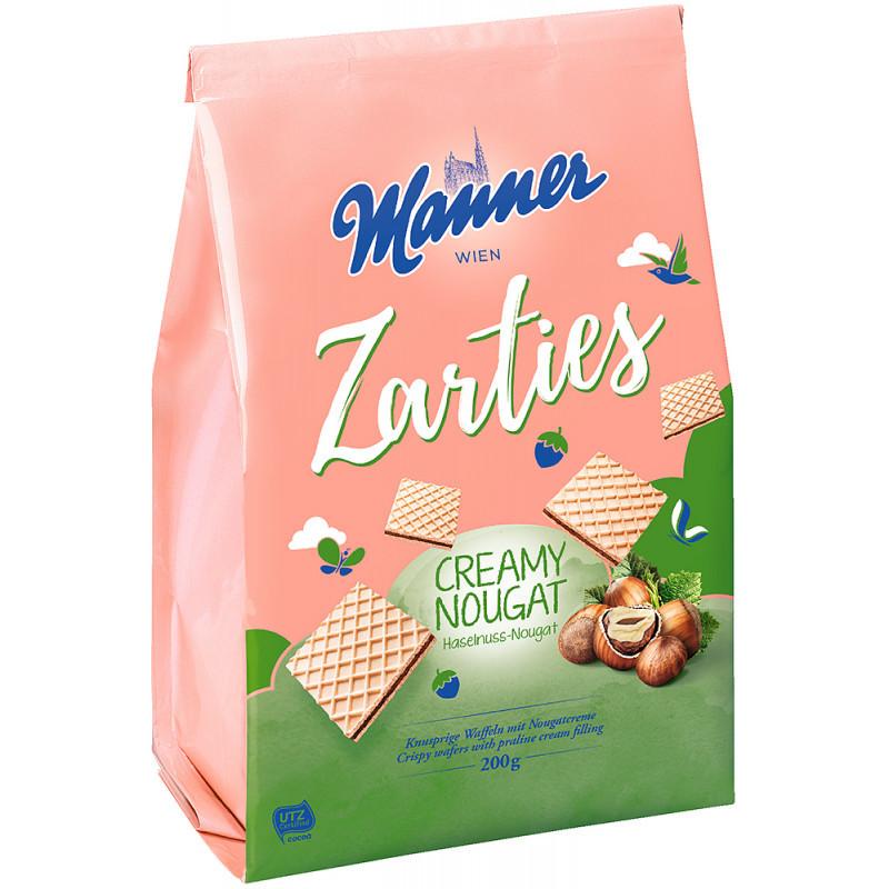 Manner Zarties Creamy Nougat 200 g