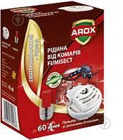 Электрофумигатор и жидкость от комаров 60 ночей Arox