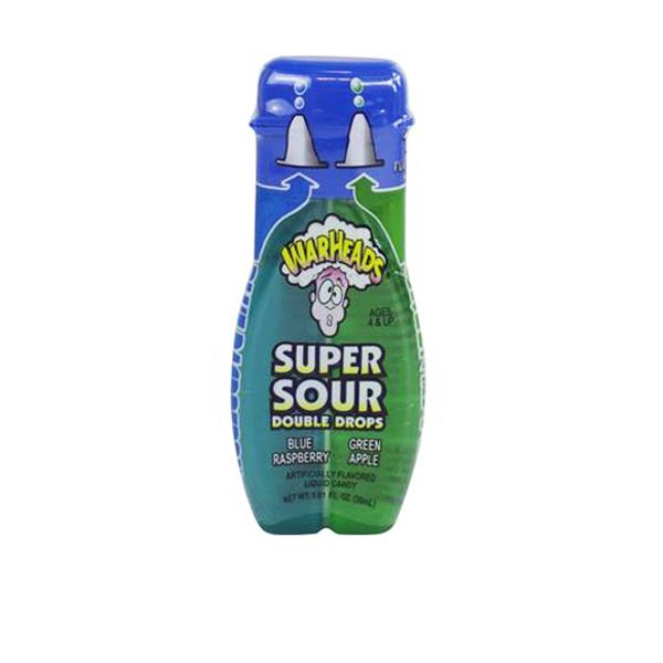 WarHeads Super Sour Drops Blue Raspberry - Green Apple 30 ml
