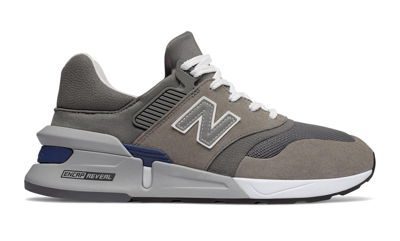 Чоловічі кросівки в стилі New Balance 997 euroncap reveal Grey