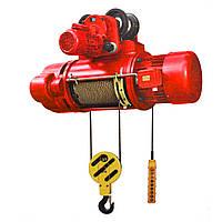 Таль электрическая канатная (электротельфер) POLTEK 380В CD1-1T, 12 м (04-160002)