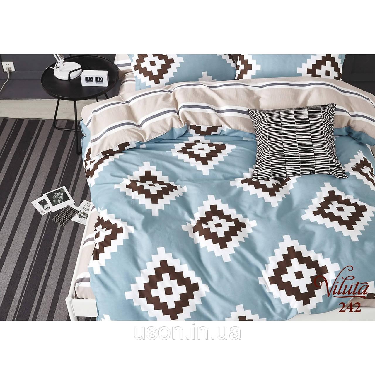 Комплект постельного белья сатин твилл Вилюта 242