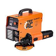 Зварювальний апарат Tex.AC ТА-00-011 + УШМ Тих.АС ТА-01-431