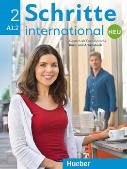Schritte international Neu 2 A1.2 Kursbuch + Arbeitsbuch