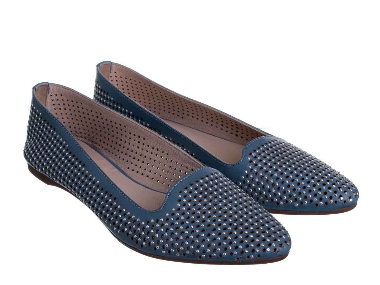 Балетки Etor 4749-1383-2129 блакитний