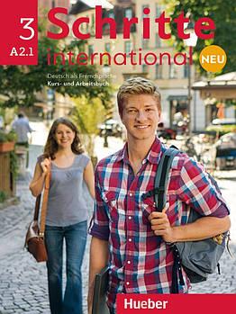 Schritte international Neu 3 A2.1 Kursbuch + Arbeitsbuch