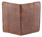 Обложка на паспорт GRANDE PELLE 00231 кожа Коричневая, Коричневый, фото 3