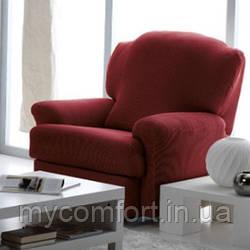 Чехол на кресло Karna. Бордовый