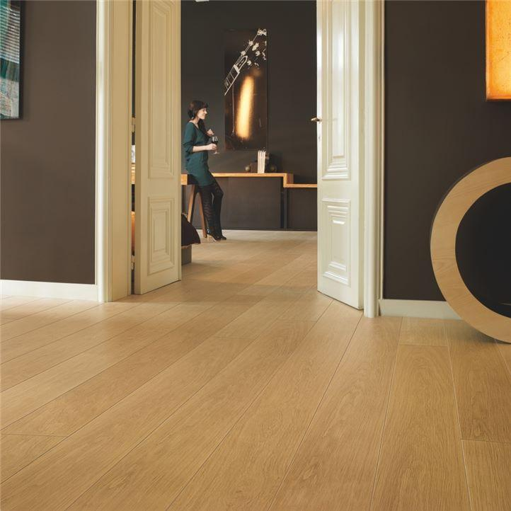 Ламинат Quick-Step Largo Natural varnished Oak planks (Дуб натуральный лакированный) LPU1284