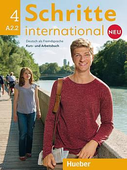 Schritte international Neu 4 A2.2 Kursbuch + Arbeitsbuch