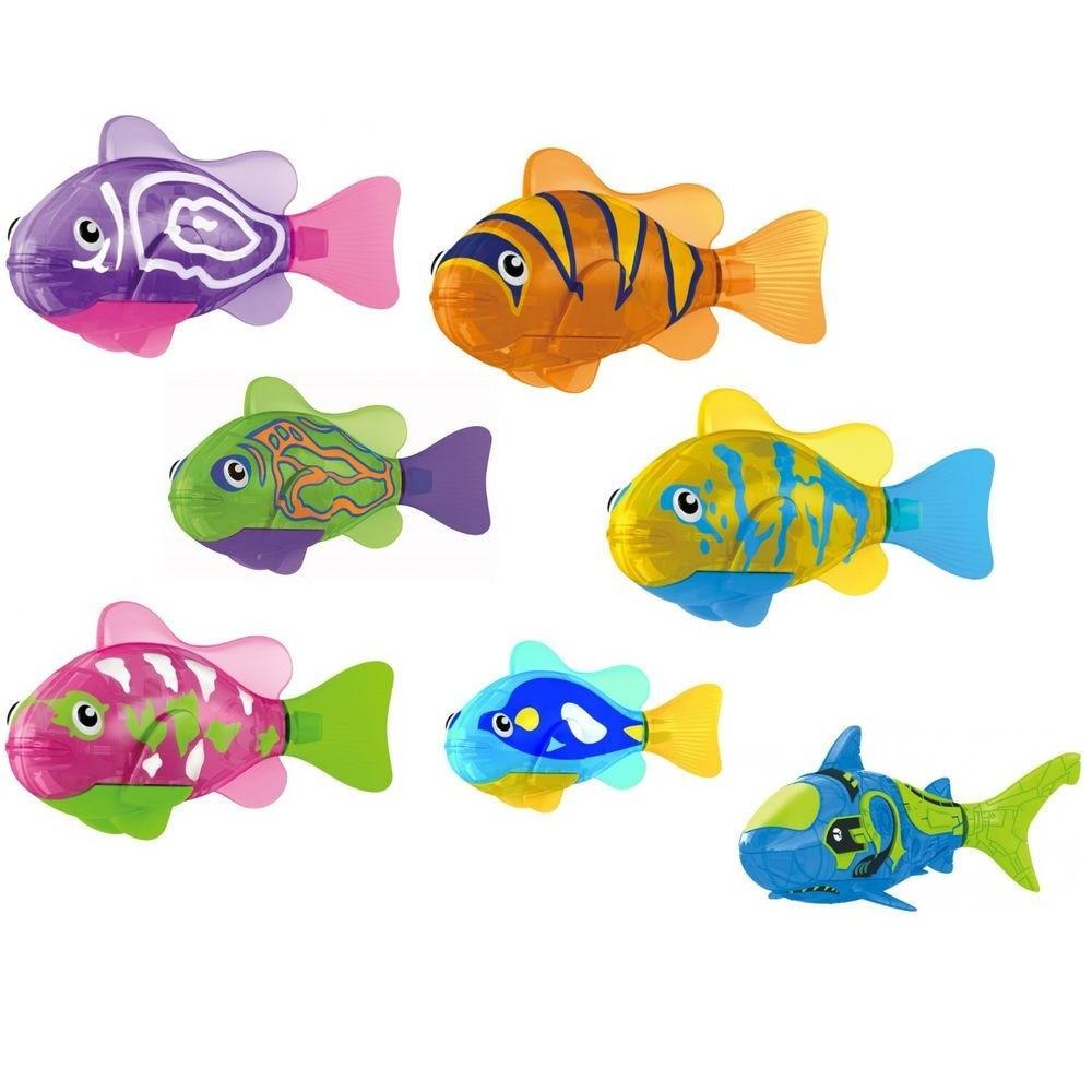 Интерактивная рыбка Robofish с подсветкой