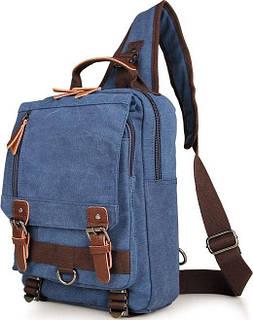 Рюкзак Vintage 14482 Синий, Синий