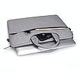 Сумка для ноутбука 15.6 дюймов - темно серый, фото 6