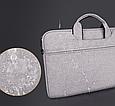 Сумка для ноутбука 15.6 дюймов - серый, фото 4