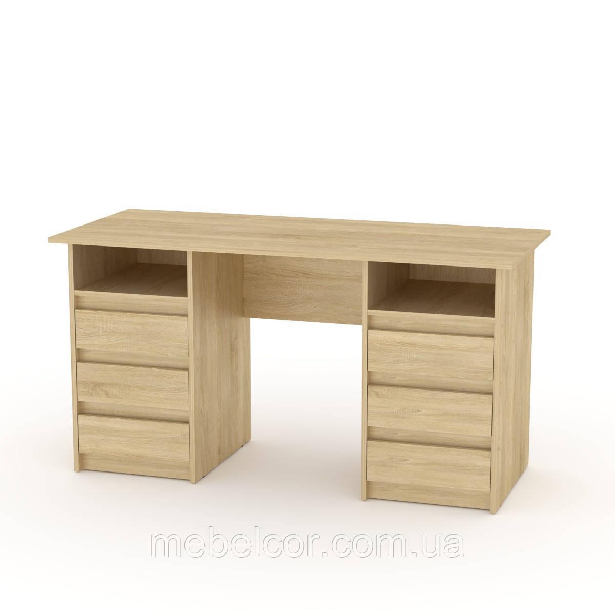 """Письменный стол с выдвижными ящиками """"Декан-3"""""""