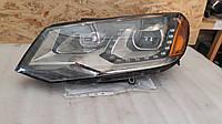 Фара левая 7P1941751A VW Touareg 2011-2014 США БУ, фото 1