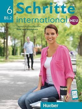 Schritte international Neu 6 B1.2 Kursbuch + Arbeitsbuch