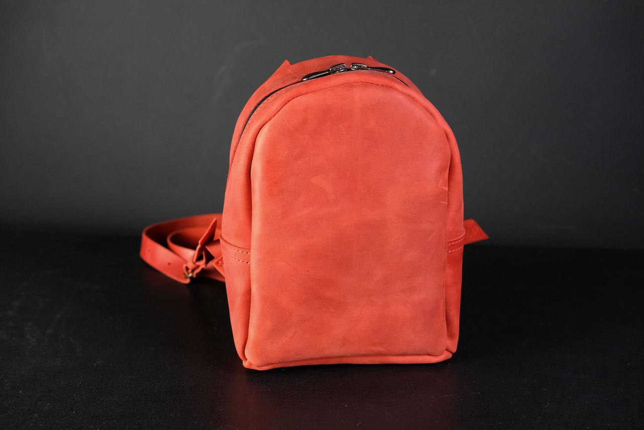Рюкзак Колибри Винтажная кожа цвет красный