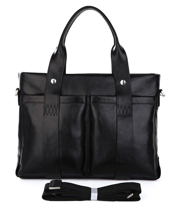 Сумка мужская Vintage 14108 Черная, Черный