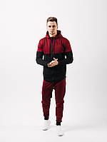 Мужской спортивный костюм Асос ,в расцветках (44-52) бордовый