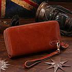 Мужской клатч Vintage 14192 Коричневый, Коричневый, фото 4