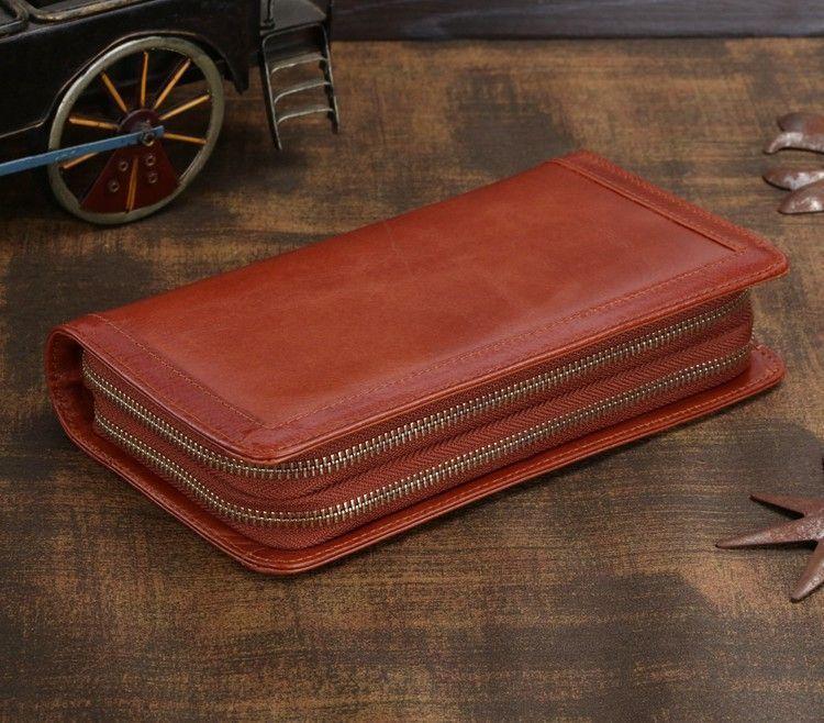 Мужской клатч Vintage 14199 Коричневый, Коричневый