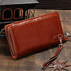Мужской клатч Vintage 14199 Коричневый, Коричневый, фото 3