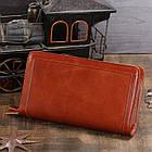 Мужской клатч Vintage 14199 Коричневый, Коричневый, фото 4