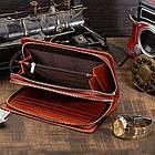 Мужской клатч Vintage 14199 Коричневый, Коричневый, фото 8
