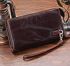Мужской клатч Vintage 14202 Коричневый, Коричневый, фото 5