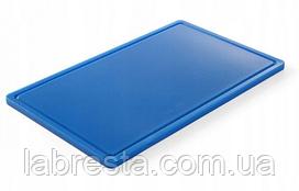 Доска разделочная Hendi 826027 HACCP GN 1/1 - голубая (синяя)