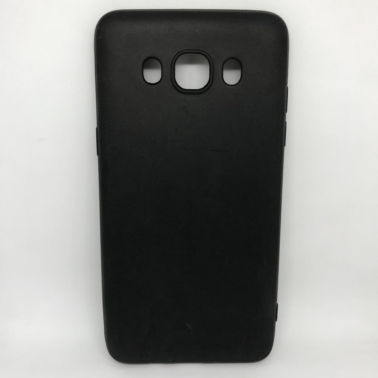Чехол Накладка silicone Samsung J310 черный