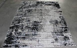 Ковер современный OPERA W8497 1,6Х2,3 СЕРЫЙ прямоугольник