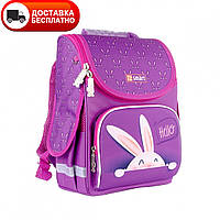 Рюкзак школьный каркасный SMART 558058 PG-11 Hello