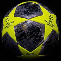 Мяч футбольный салатовый Лиги Чемпионов Champions yellow
